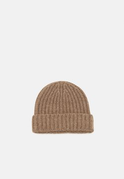 Johnstons of Elgin - DONEGAL CASHMERE BEANIE - Beanie - otter