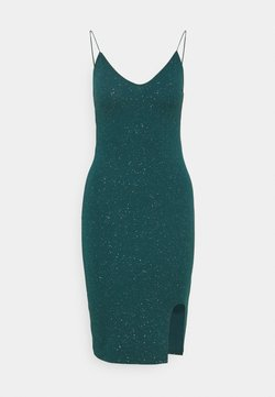 Nly by Nelly - BOMBSHELL SPARKLE DRESS - Cocktailkleid/festliches Kleid - green