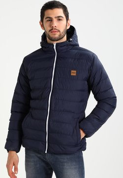 Urban Classics - BASIC BUBBLE JACKET - Winterjas - navy/white/navy