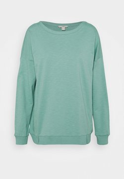 edc by Esprit - SLUB TERRY - Sweater - dusty green