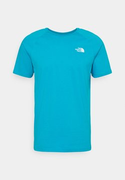The North Face - TEE - Print T-shirt - turquoise/white