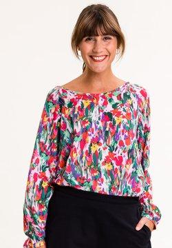 UVR Berlin - Bluse - bunt mit floralem print