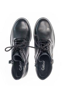 Gabor - Schnürstiefelette - schwarz