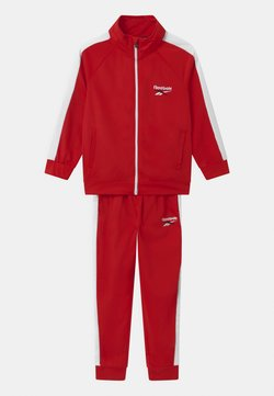 Reebok - HERITAGE POLY SET - Veste de survêtement - red