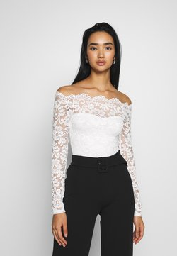 Nly by Nelly - OFF SHOULDER - Bluse - off white