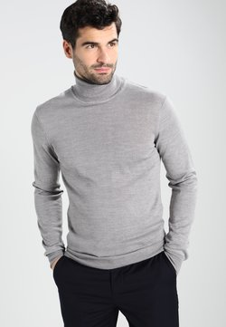 Casual Friday - KONRAD  - Strickpullover - light grey melange
