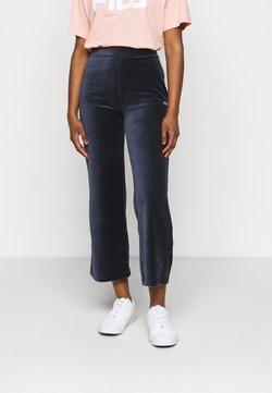 Fila Petite - BIAN CROPPED PANT - Pantalones - black iris