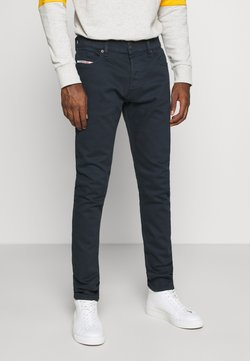 Diesel - D-LUSTER - Slim fit jeans - dark blue denim