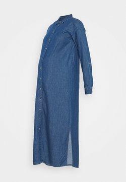 MAMALICIOUS - MLLAURI LIA DRESS - Robe en jean - medium blue denim