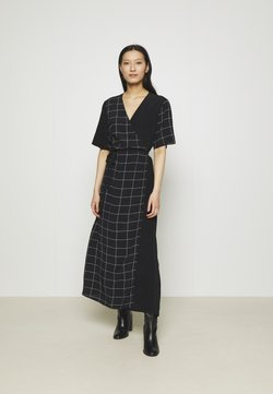 JUST FEMALE - HALLE WRAP DRESS - Maxikleid - dark blue