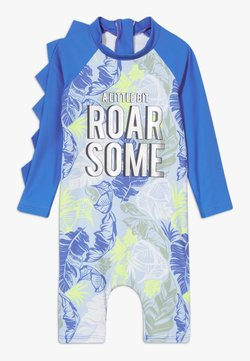 River Island - ROAR-SOME SUNSAFE ALL IN ONE - Uimapuku - blue