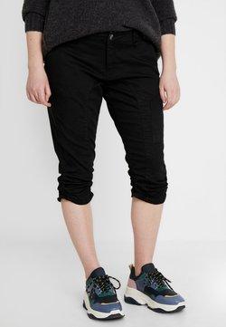 Zizzi - CAPRI - Jeansshort - black