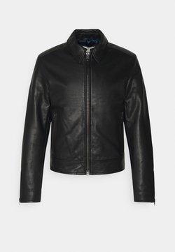 Tiger of Sweden - TANKER - Leather jacket - black
