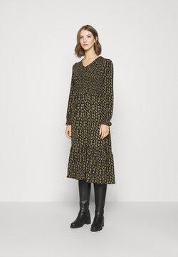 ONLY - ONLJESS DRESS  - Hverdagskjoler - black/yellow