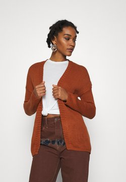 ONLY - ONLLEXI CARDIGAN - Vest - ginger bread
