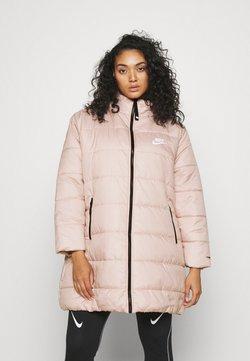 Nike Sportswear - CLASSIC - Wintermantel - pink oxford/black/white