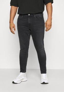 Tommy Jeans Plus - Jean slim - black denim