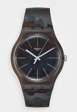 Swatch - CAMOUCLOUDS - Montre - brown