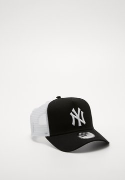 New Era - CLEAN TRUCKER NEYYAN - Lippalakki - black/ white