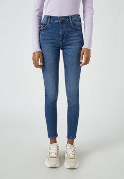 PULL&BEAR - Jeans Skinny Fit - dark-blue denim