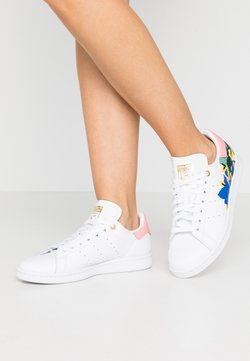 adidas Originals - STAN SMITH  - Joggesko - footwear white/glow pink/gold metallic