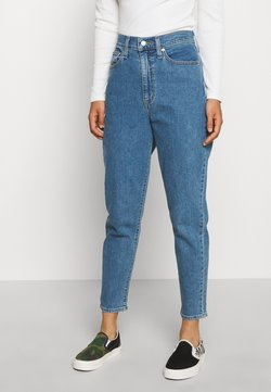 Levi's® - HIGH WAISTED TAPER - Jeans Relaxed Fit - blue denim