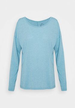 Nike Performance - DRY LAYER  - Camiseta de deporte - cerulean heather/glacier blue/armory blue