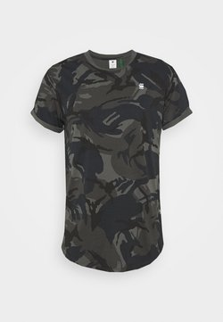 G-Star - LASH R T S\S - T-shirt imprimé - night dutch