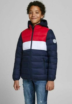 Jack & Jones Junior - Winterjas - tango red