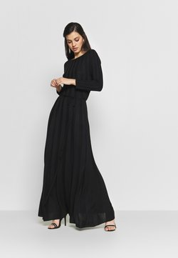 YAS - YASCHELSEA 3/4 ANKLE DRESS  - Maxikjoler - black