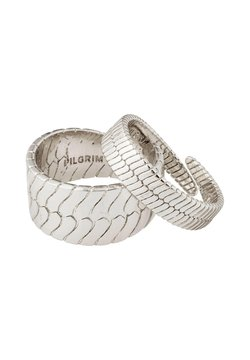 Pilgrim - KELLY 2 PACK - Ringar - silver plated