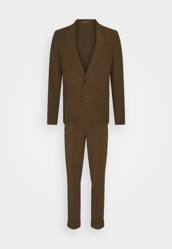 Isaac Dewhirst - THE RELAXED SUIT  - Anzug - brown
