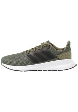 adidas Performance - RUNFALCON - Zapatillas de running neutras - raw khaki/core black/footwear white