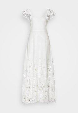 YAS - GEORGINA STRAP ANKLE DRESS - Iltapuku - star white