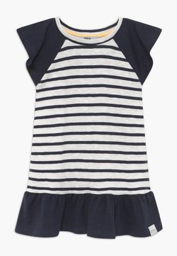 Ebbe - BELLE - Jerseykleid - off-white/dark-navy