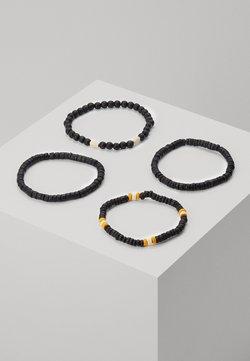 Burton Menswear London - Bracelet - black/orange