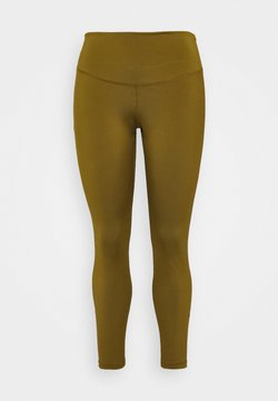 Nike Performance - ONE PLUS  - Tights - olive flak/black