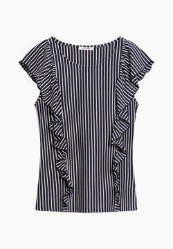 ORSAY - MIT STREIFEN - T-Shirt print - nachtblau