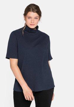 Sheego - T-shirt imprimé - nachtblau