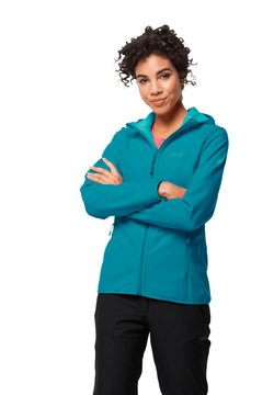 Jack Wolfskin - NORTHERN POINT - Softshelljacke - dark cyan