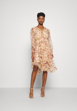 YAS - YASLUSAKA DRESS - Sukienka koktajlowa - light pink