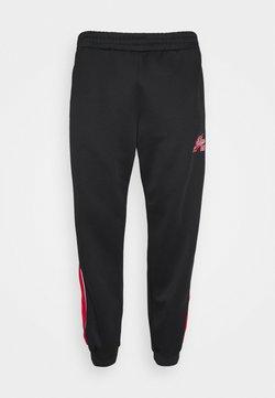 FUBU - VARSITY TRACK PANTS - Jogginghose - black