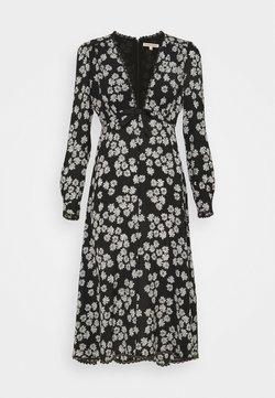 Alexa Chung - LONG SLEEVE DRESS - Day dress - black/off white