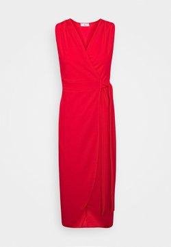WAL G. - SLEEVELESS WRAP DRESS - Vestito elegante - red