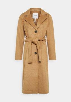 Object - Płaszcz wełniany /Płaszcz klasyczny - camel