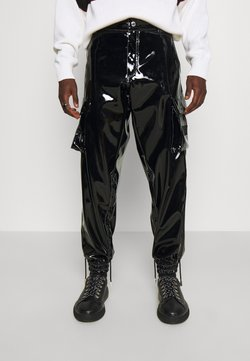 GCDS - PANTS - Reisitaskuhousut - black