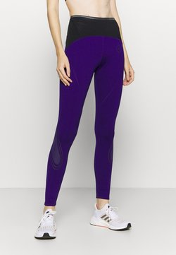 adidas by Stella McCartney - TRUEPACE - Tights - collegiate purple/black