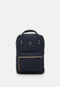 anello - SQUARE BACKPACK UNISEX - Reppu - navy