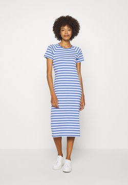 Tommy Hilfiger - BONITA SLIM DRESS - Jerseykleid - ombre/iris blue