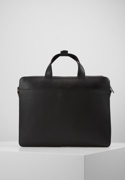 Zign - LEATHER - Notebooktasche - black
